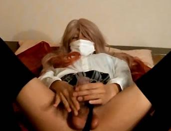 Coreano Se Masturba Vestido De Colegiala Xxx