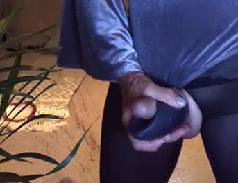 Travesti Cincuentona Descubre La Webcam Porno