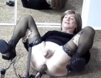 Sexo Anal Con Una Máquina De Follar