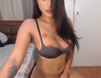 Videochat Con Una Sexy Tranny Pajeándose